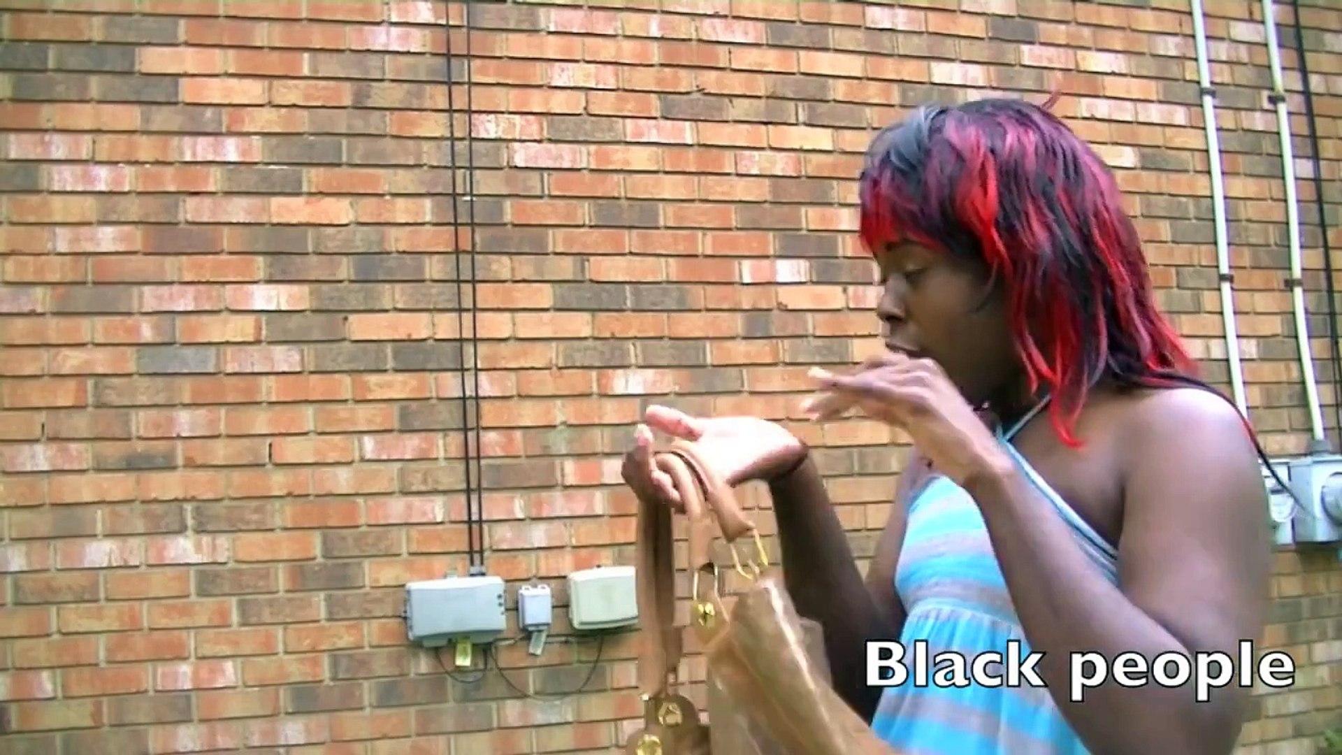 Black People & White People Stereotypes