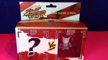 Kidrobot Street Fighter Mini Figure 2 Pack!  Final Boss M. Bison with Blind Box Mystery Figure!