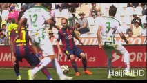 Luis Suarez first Hattrick for FC Barcelona! - Cordoba 0-8 FC Barcelona (La Liga) 02.05.2015 HD