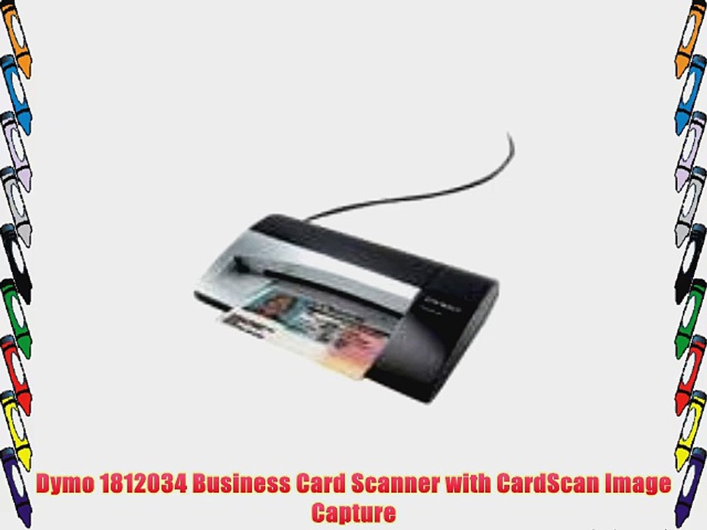 Dymo 1812034 Business Card Scanner With Cardscan Image
