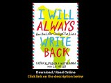 Download I Will Always Write Back How One Letter Changed Two Lives By Mary Kate