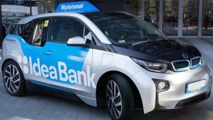 Idea Bank Of Poland Creates Mobile ATMs Using BMW i3