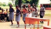 Les Clubs de filles: améliorer l'éducation des filles au Ghana