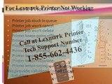 #1 855 662 4436 Lexmark Printer Not Responding-Printer Not Connecting- Printer Troubleshooting