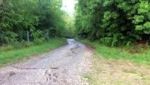 Passage 2ème km Trail nivolet revard 2015
