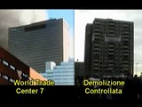 WTC7 controlled demolition, side-by-side video
