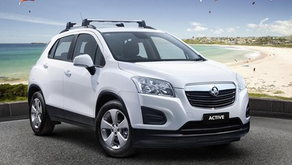 Holden Trax Active Unveiled In Australia