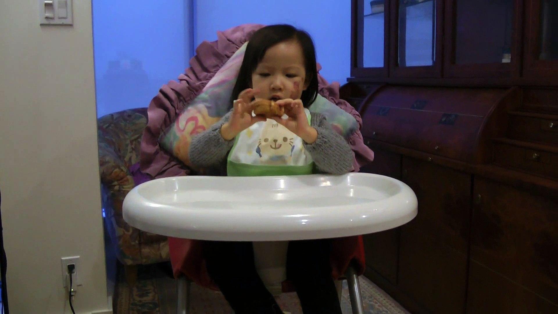 Girl Sharing Her Animal Cake