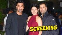 Bombay Velvet Special Screening | Ranbir Kapoor, Anushka Sharma, Karan Johar