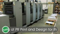 Printing Glasgow - Call 0141 556 5414 for Printing Services by PR Print & Design Glasgow Printers