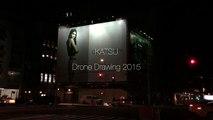 Il vandalise une publicité de Kendall Jenner avec son drone