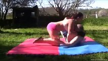 Womens Mud Wrestling warriorbabe mixed dirty wrestling 16