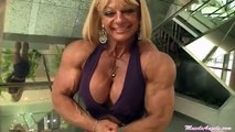 Muscle Angels promo1 Female bodybuilding strong women muscular women flexing!