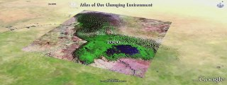 UNEP highlights environmental change using Google Earth's historical imagery