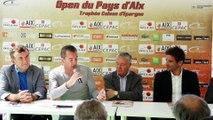 La Caisse d'Epargne Provence-Alpes-Corse, partenaire officiel de l'Open de tennis du Pays d'Aix