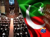 PTI To Move KP, Sindh, Punjab Assemblies Against Altaf Hussain-Geo Reports-02 May 2015