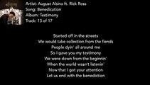 Rick Ross - I Wonder Why (lyrics) - Vidéo dailymotion
