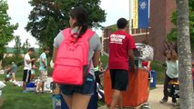 Move in day for University of New Haven students