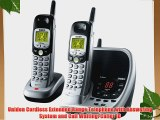 Uniden Cordless Extended Range Telephone with Answering System and Call Waiting/Caller ID