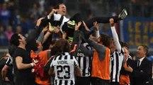 Juventus campione d'Italia annuncio Riccardo Cucchi