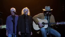 """Neil Young Sings """"Fancy"""" with Crosby, Stills & Nash"""