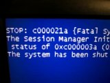 Windows XP Failure
