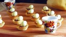 Cupcakes de Pascua con Nutella   Tartaletas de Masa Quebrada   Recetas Nutella   Recetas Italianas
