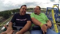 Robb Alvey & Banks Lee Ride White Lightning at Fun Spot in Orlando