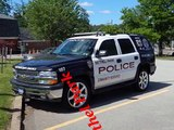 Police Cars And Police In Action In Texas And Pennsylvania