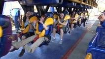 Batman The Ride Roller Coaster POV Six Flags Mexico Vekoma SLC On-Ride
