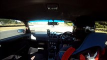 Taupo track day - S14 Autech Version K's MF-T 1st outing