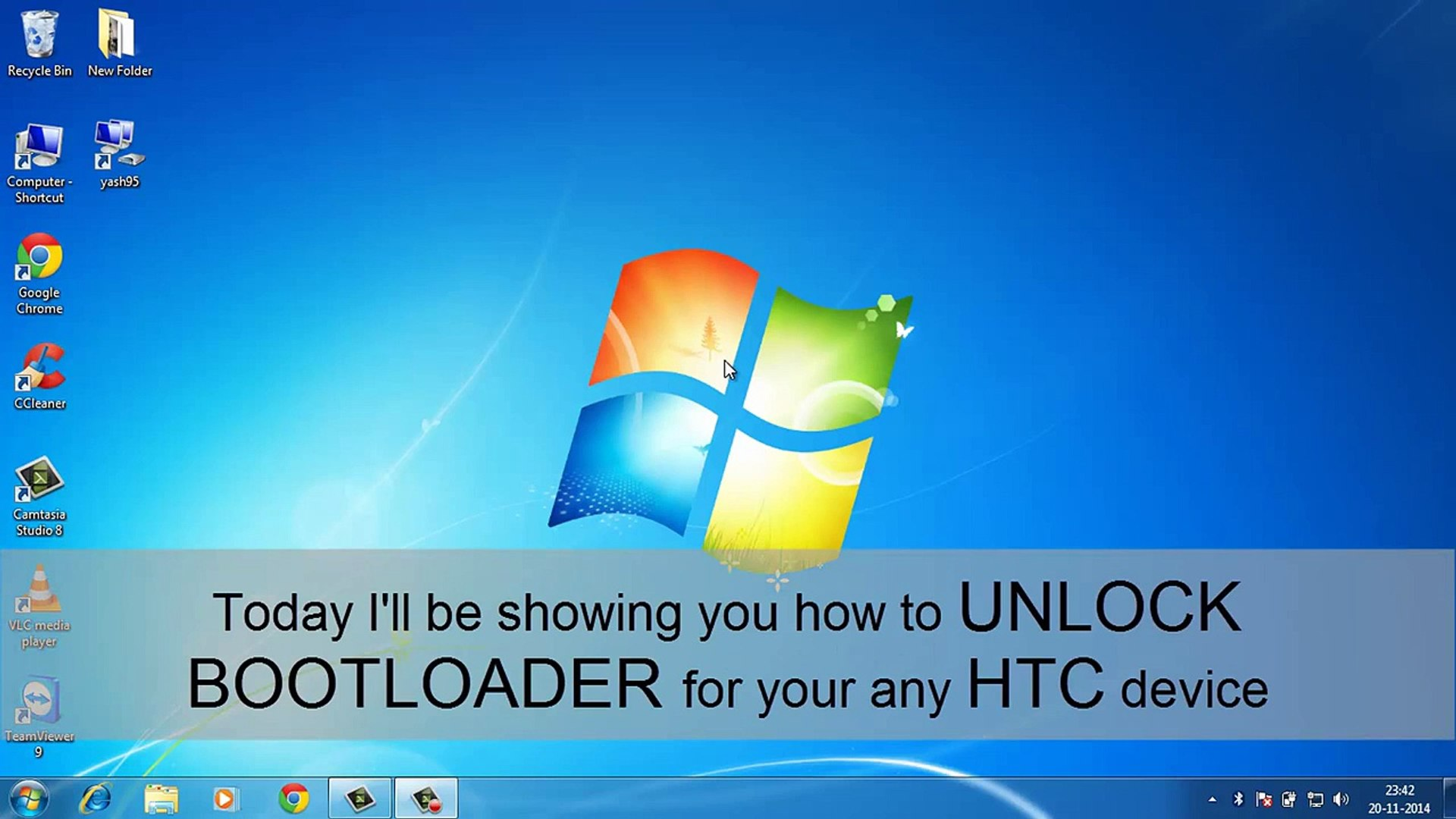 How to unlock bootloader for htc [SUPPORTS ALL MODELS]