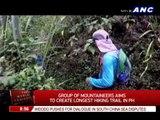 Mountaineers aim to create longest hiking trail in PH