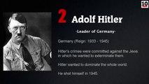 10 Most Evil Men In History
