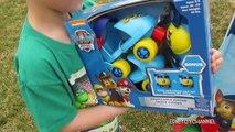 PAW PATROL Toy Video with NEW Paw Patrol Toys + Paw Patrol Roller Skates & Paw Patrol BUBBLES!