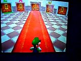 Super Mario 64 DS - Panneau luigi et  wario  + bug turn off Ds lit screens