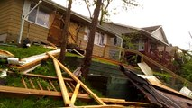 Shocking Video Right After N Minneapolis Tornado,Reports of Night Time Curfew ,Fights and Looting !