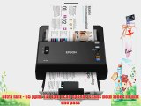 Epson WorkForce DS-860 Hi Speed Sheet-Fed Color Document Scanner 80 page Auto Document Feeder