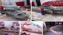 White dragon has been shot dead in Malaysia-Caught on Tape 2014