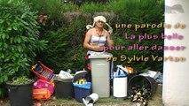 La poubelle parodie de la plus belle de Sylvie Vartan