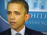 Obama Cries on Mass Shooting at Connecticut School Shooting