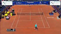 Kei Nishikori vs Bautista Agut   tennis Highlights Barcelona Open 2015 HD720p 50fps