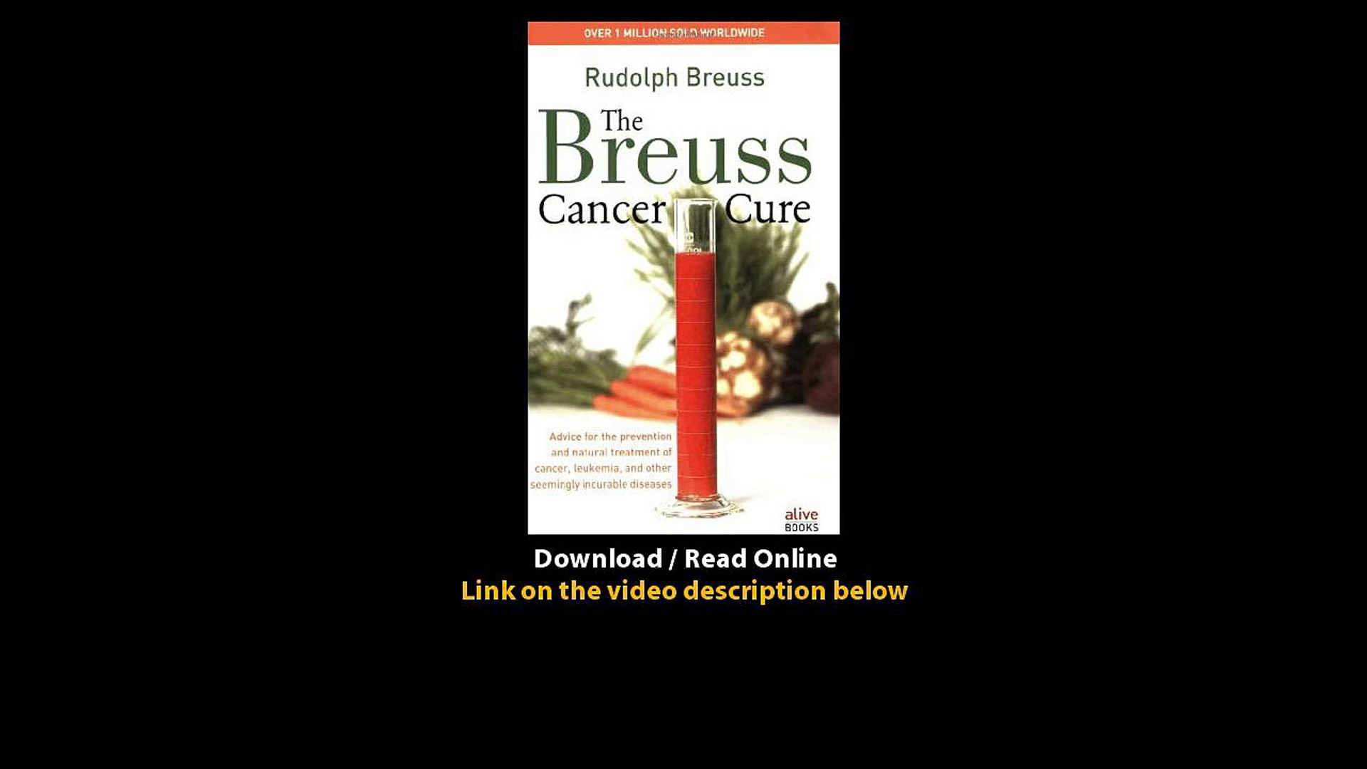 Download The Breuss Cancer Cure By Rudolf Breuss PDF