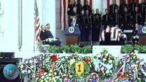 Remarks at Memorial Day Ceremonies Honoring an Unknown Serviceman of the Vietnam Conflict - 5/28/84
