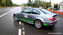 BEST of BMW Sounds! - E30 M3, E46 M3 CSL, M3 GTS, E92 M3, M5 F10, M6