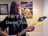 He's a Pirate on electric guitar - PotC -  Daniel Tidwell