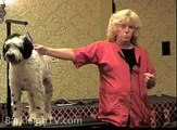 """Grooming The """"First Dog""""... Portuguese Water Dog - Linda Easton, Groom Expo 2009"""