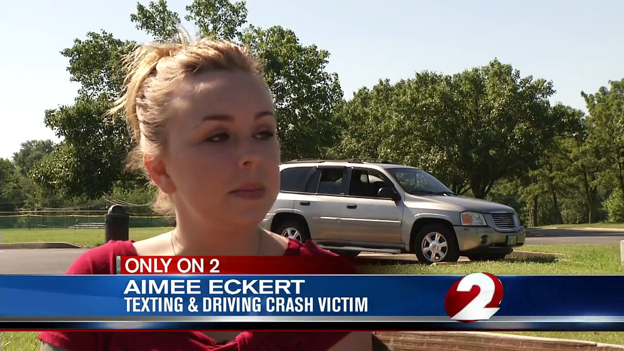 Woman's story to end texting while driving