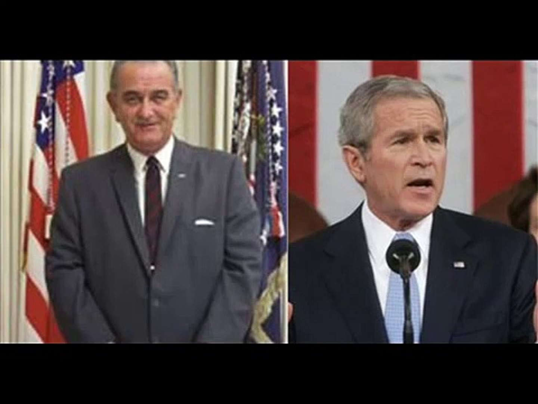 CAUGHT ON TAPE !!! Presidents Bush & Johnson!