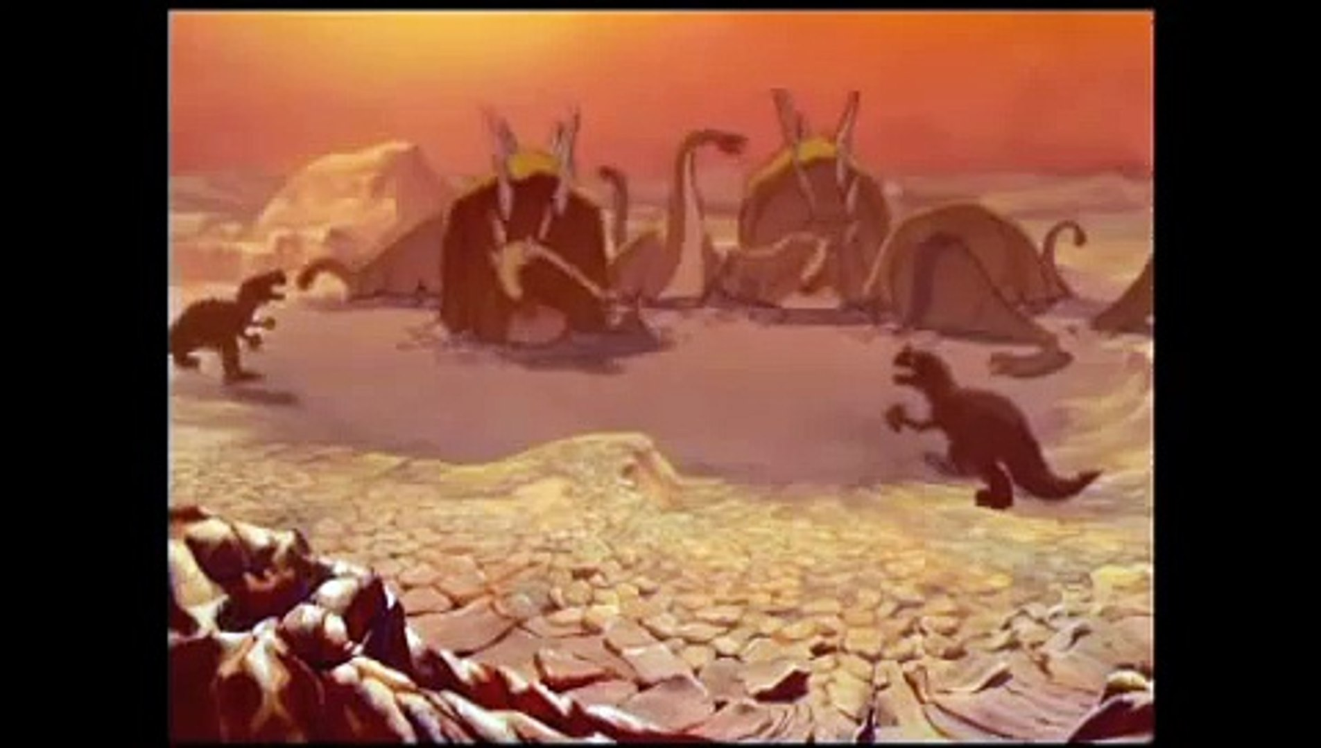 Fantasia 1940 The Rite Of Spring Extinction Video Dailymotion